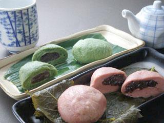 麩万寿、桜麩餅